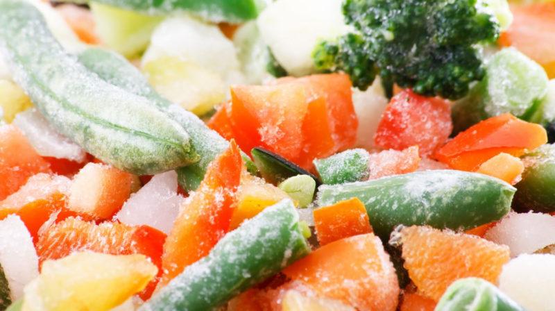 badanie żywności mrożonej